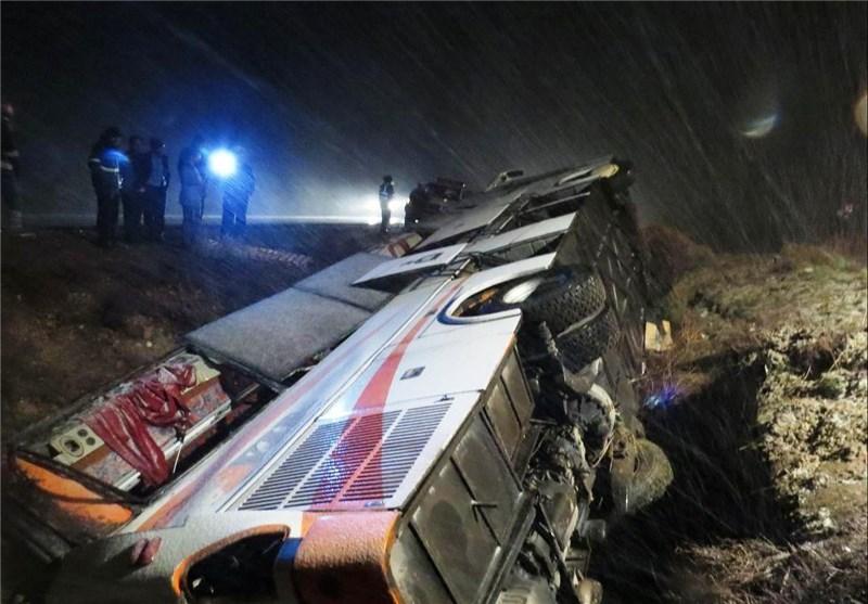 آخرین وضعیت دانشآموزان حادثه دیده در واژگونی اتوبوس