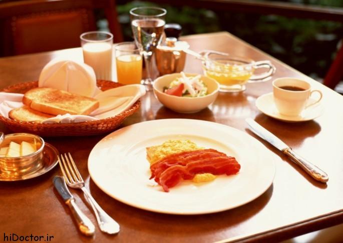 تاثیرات صبحانه کامل بر فعالیت مغز