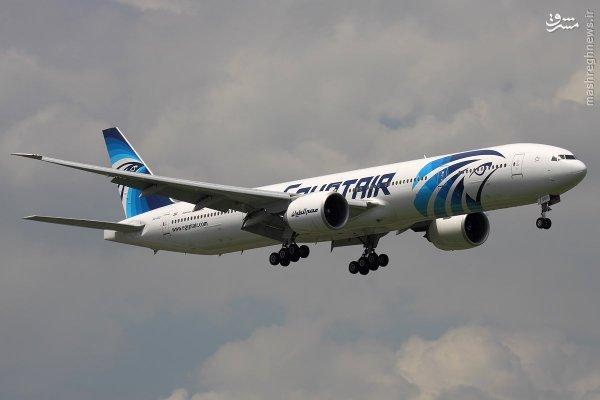 سقوط هواپیمای مسافربری مصری