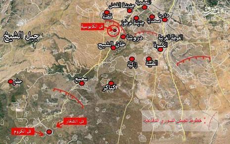 تروریستها سرباز مجروح ارتش سوریه را به تانک بستند+عکس