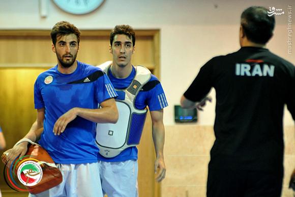 عکس/ تمرین تیم المپیکی تکواندوی ایران