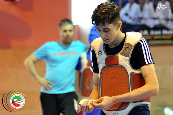 عکس/ تمرین تیم المپیکی تکواندوي ايران