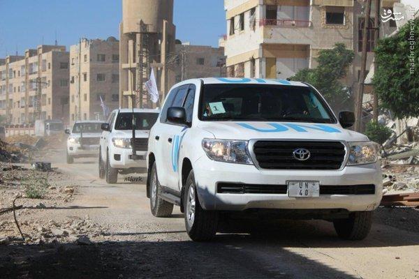 امداد رسانی به محله یلدای دمشق+عکس و فیلم