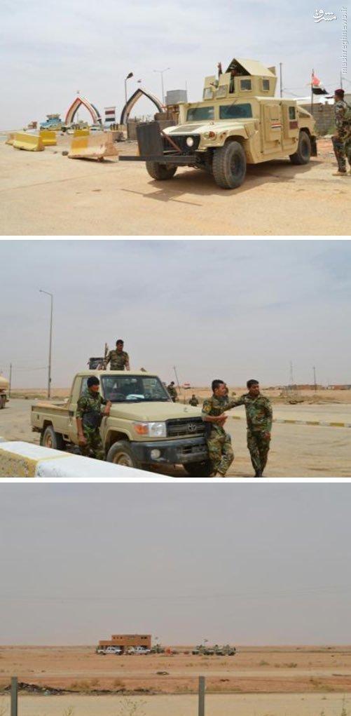 سیطره ارتش عراق بر مرز با اردن+عکس