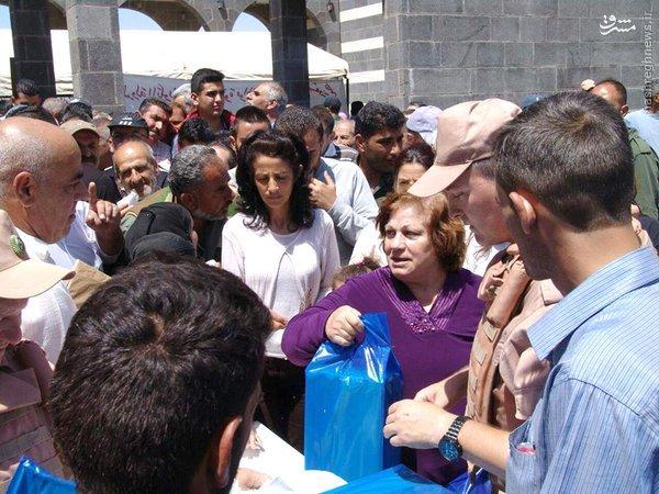 کاروان کمکهای روسیه در درعا+عکس