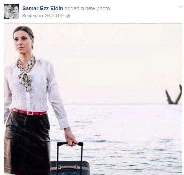خانم مهماندار سقوط هواپیما را پیش بینی کرده بود +عکس