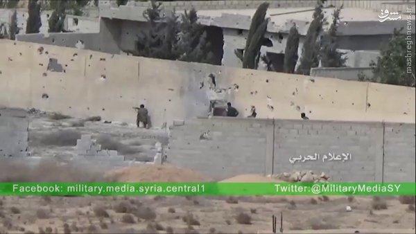 نبردهای غوطه شرقیه به روایت حزب الله+فیلم و عکس