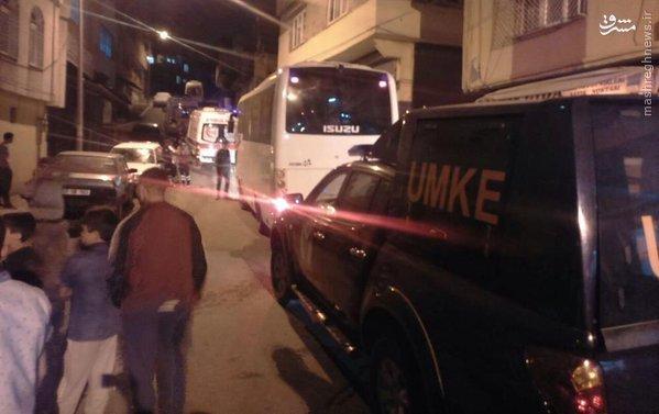 انفجارهای شبانه استانبول ترکیه+عکس