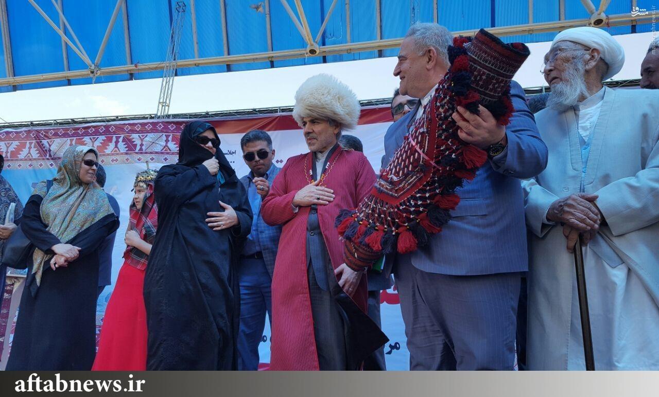عکس/ نوبخت در لباس ترکمن