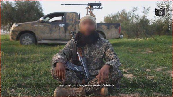 رونمایی از گردان هندیهای داعش در سوریه+عکس
