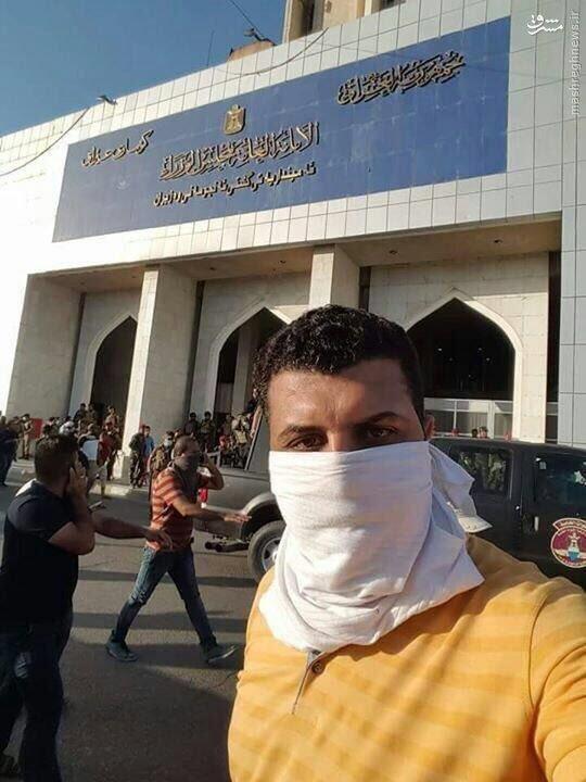 هجوم حامیان مقتدی صدر به هیئت دولت عراق!+عکس