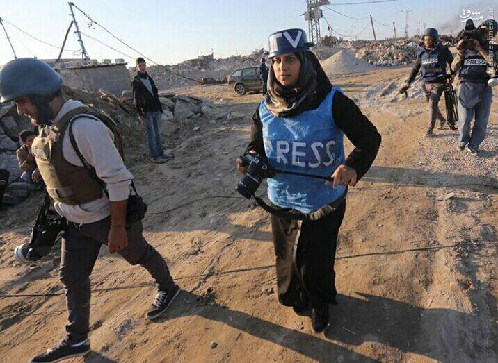 عکس/ عکاسی در منطقه جنگی با قابلمه