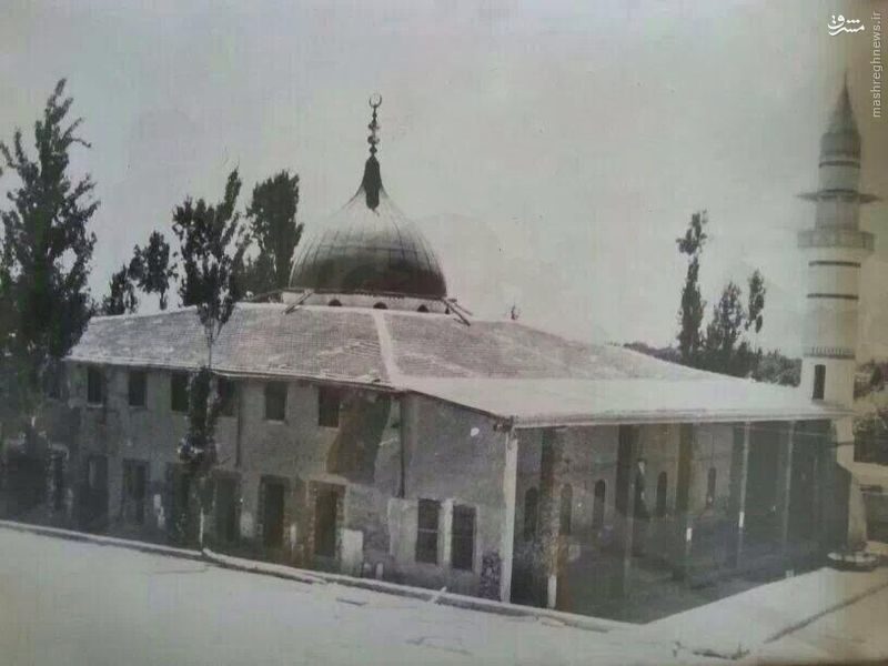 عکس قدیمی از حرم حضرت زینب (س)