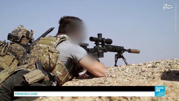 کماندوهای آمریکایی در نبردهای شهر شدادی سوریه+عکس