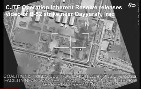 فیلم/حملات ویرانگر هوایی ارتش عراق علیه داعش
