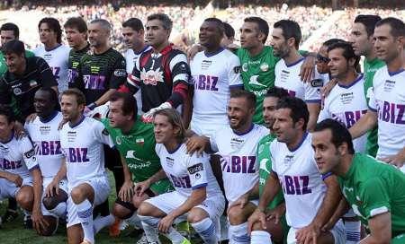 ستارگان فوتبال جهان در راه تهران