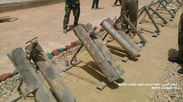 شکست حمله موشکی داعش به کربلاء+عکس