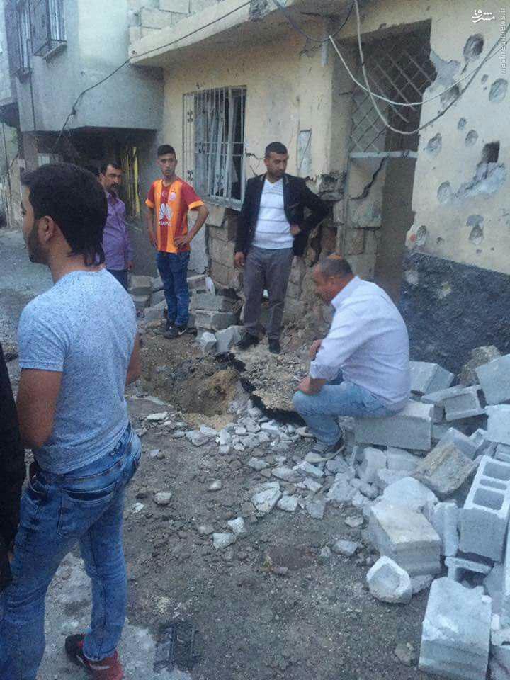 16 کشته و زخمی در گلوله باران جنوب ترکیه+عکس