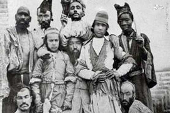 متلکهای نیشدار دلقک مشهور قاجار