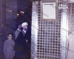 عکس/ شهید شاه آبادی در حرم حضرت زینب(س)