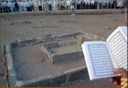 تصاویری از مزار پسر پیامبر اسلام/سخنی که رسولالله(ص) در فراق پسرش گفت