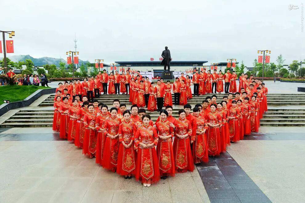 عکس عروسی عکس چین دختر چینی پسر چینی اخبار چین