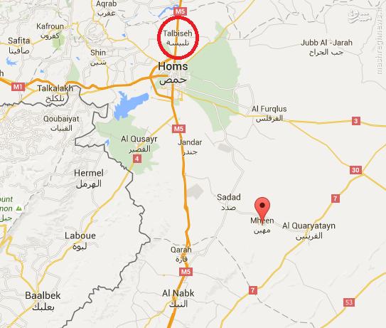 ترور مسئول شرعی داعش بدست القاعده در حمص+عکس