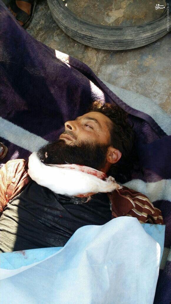 ترور پنجمین فرمانده ارشد تروریستها در ادلب+عکس