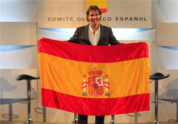 نادال پرچمدار کاروان اسپانیا در المپیک +عکس
