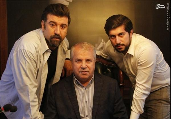 عکس/ نقش آفرینی علی پروین در یک سریال نمایشی