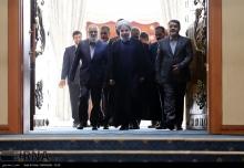 عکس/ روحانی در همایش بزرگ شوراها