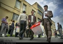 عکس/ اعزام صندوقهای رأی در کرمانشاه