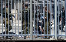 عکس/ محل شهادت خواهر و برادر فلسطینی