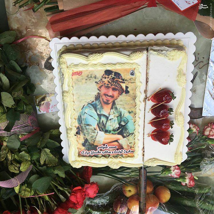 عکس/ کیک تولد روح الله