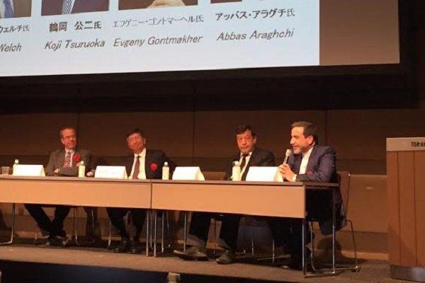 عراقچی برای ژاپنیها از سیاستهای جهانی ایران گفت