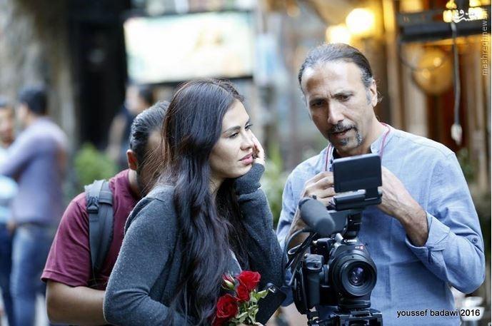 خانم بازیگر آمریکایی در سوریه چه می کند؟+عکس