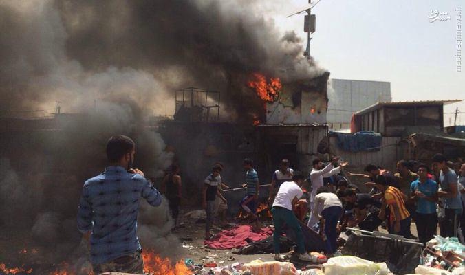 انتحاری تبعه مراکش در بازار بغداد+عکس