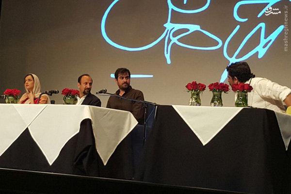 نشست پرسش و پاسخ عوامل فروشنده پس از حضور در جشنواره فیلم کن + فیلمها