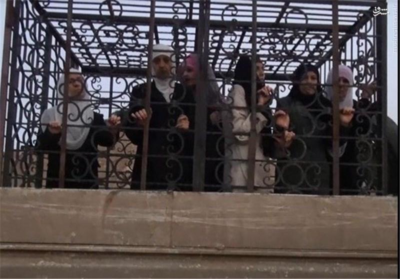 روضه کسری ناجی برای تروریستهای تکفیری جیش الاسلام