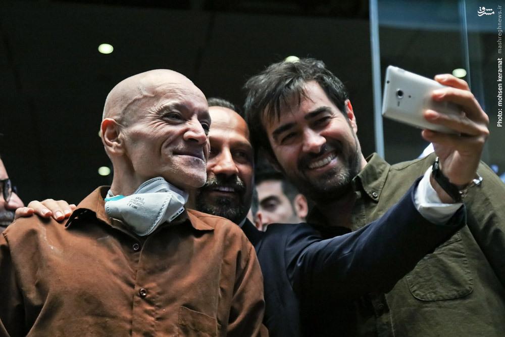 شهاب حسینی: جایزهام را با افتخار به آستان مقدس جمکران تقدیم میکنم +فیلم