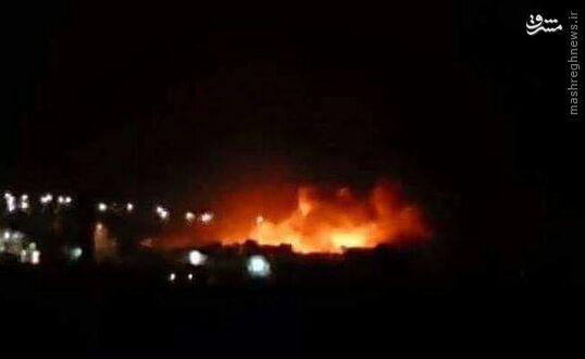 بمباران ویرانگر مقر تروریستهای چینی در ادلب سوریه+عکس