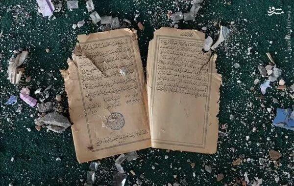 بمباران مسجد جامع شرناق توسط ارتش ترکیه+عکس
