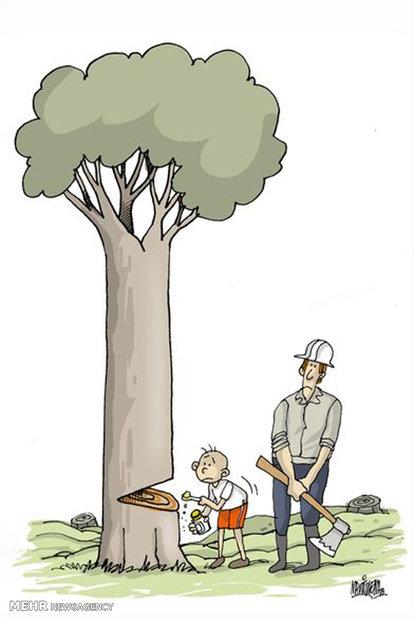 برای این کاریکاتور شما تیتر بزنید