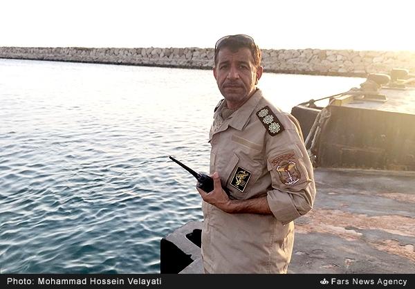 ناوسالاریکم «اصغر معماری» فرمانده نیروهای ویژه دریایی سپاه شد +عکس