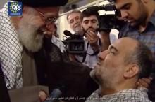 فیلم/ دیدار یک جانباز با رهبر انقلاب بعد از شهادت