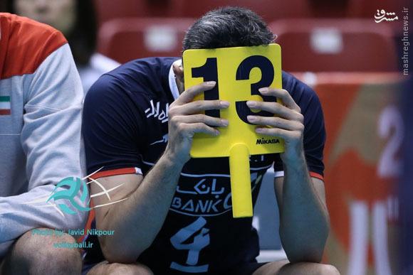 عکس/ ناراحتی جادوگر از باخت مقابل فرانسه