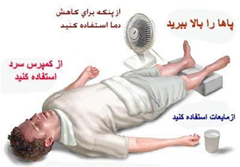 در صورت مسمومیت گرمایی این توصیهها را جدی بگیرید