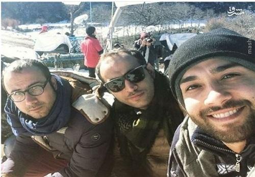 مجید صالحی بازیگر به جنگ رفت!
