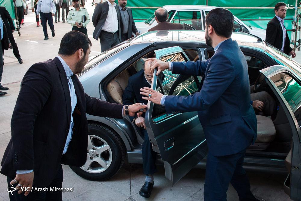 عکس/ ماشین رئیس صداوسیما
