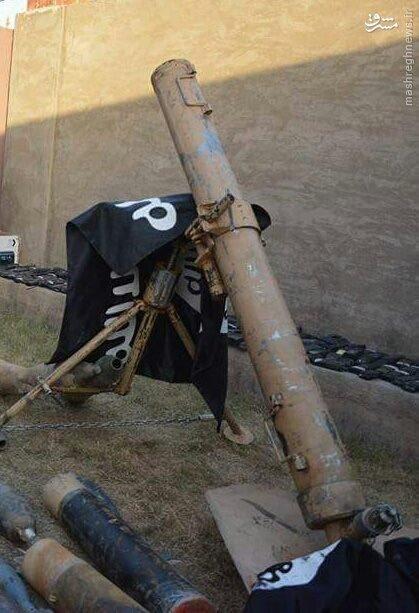 کشف بزرگ ترین انبار سلاح داعش در اطراف فلوجه+عکس